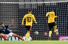 Lukaku, Hazard help Belgium outclass Scotland