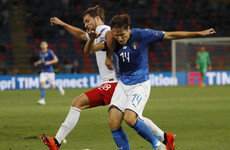 The son of a Serie A legend came off the bench and made a swift impact for Italy tonight
