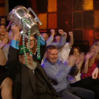'If St Peter gets me at the gate, I couldn't be happier:' 98-year-old Limerick fan stars on The Late Late Show