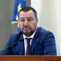 Italy's Salvini touts plan to 'save Europe' after Steve Bannon talks