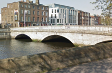 Man stabbed on O'Donovan Rossa Bridge in Dublin city centre