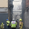 Fire rages at city building formerly owned by the Limerick Leader newspaper