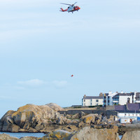 12-year-old boy winched to safety after falling while jumping rocks in south Dublin