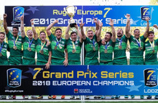 Ireland's rise in 7s continues as Eddy's men make history with Grand Prix title in Poland