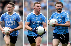 Dublin trio nominated in battle for the 2018 Footballer of the Year award