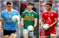 Dublin, Kerry and Tyrone players to contest Young Footballer of the Year award