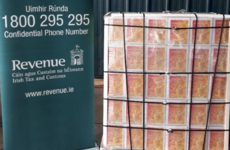Sangria smuggled in boxes labelled 'orange juice' seized alongside 15kg of tobacco