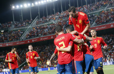 Spain have seven shots on target, trounce World Cup finalists Croatia 6-0