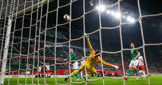 Here's the lovely Aiden O'Brien goal from last night's 1-1 draw in Poland