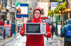 This Monaghan man is about to hitchhike around Scotland carrying a microwave
