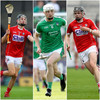 Cork duo and Limerick forward to contest Young Hurler of the Year award
