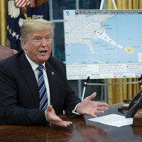 Trump criticised for hailing US response to Hurricane Maria last year as 'tremendous'