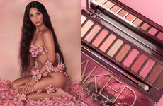 Did Kim K copy Urban Decay with her new Cherry Blossom makeup collection? Let's investigate