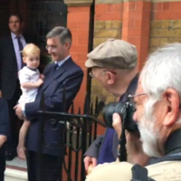 'Your daddy is a horrible person': Protesters criticised for shouting at Jacob Rees-Mogg's children