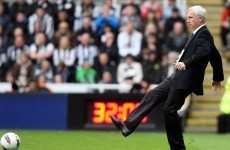Pardew demands answer to European question