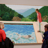 This David Hockney painting is expected to fetch $80m and set the record for a living artist