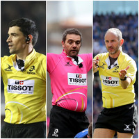 Munster, Leinster and Ulster set for French refs in first round of Champions Cup