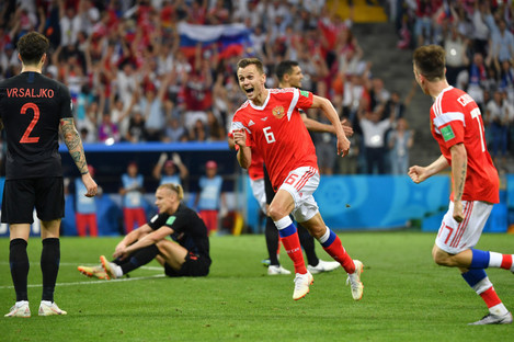 Denis Cheryshev was one of the stars of the World Cup.