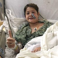Miraculous recovery for 10-year-old US boy after meat skewer pierces skull