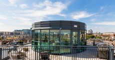 Round of applause for this circular D4 penthouse with million-euro city views