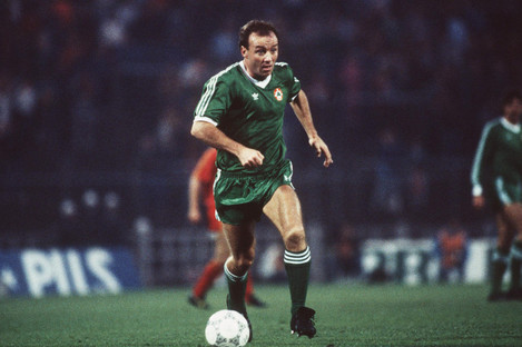David Langan earned 26 caps for Ireland between 1978 and 1987.