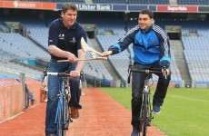 On yer bike: GAA stars get behind charity cycling initiative