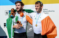 World champions! O'Donovan brothers win rowing gold for Ireland