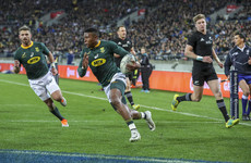 Sensational Springboks stun the All Blacks in Rugby Championship classic