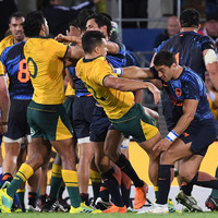 Gutsy Argentina hold off Wallabies for famous win