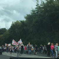 North Dublin locals protest over Irish Water's plans for wastewater treatment plant