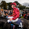 Roaring Lion outclasses Saxon as rivals go head-to-head at Champions Stakes in Leopardstown