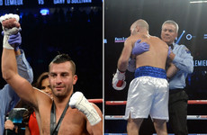 Title dream turns to nightmare in 164 seconds as Spike O'Sullivan is floored in Sin City