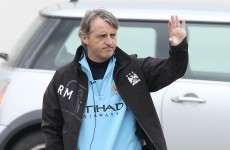 Mancini: 'We probably don't have any chance'