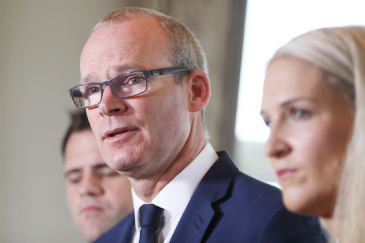 File photo, Tánaiste and Minister for Foreign Affairs and Trade, Simon Coveney with Minister of State for European Affairs, Helen McEntee.