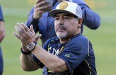 9aa628e9e Diego Maradona makes winning start in Mexico