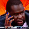 VIDEO: Nets fan gets hit by ball while texting