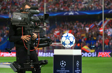 Where can I watch this week's Champions League games on Irish TV?