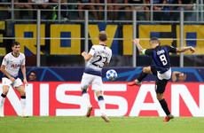 What a hit! Super Icardi volley helps Inter Milan to stunning comeback victory over Spurs