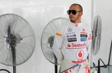Mercedes the front-runners, says Hamilton