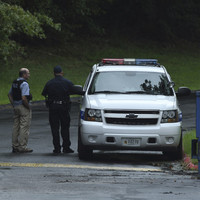 Four people die, including suspect, following shooting in Maryland in the US