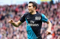 RVP to decide on Arsenal future before the Euros, says Wenger