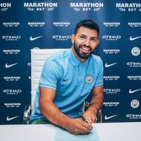 Agueroooo... Man City's greatest ever goal-scorer extends contract until 2021