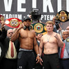 Joshua weighs in nearly two stone heavier than Russian challenger Povetkin