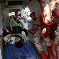 At least 29 people, including children, shot dead at military parade in Iran