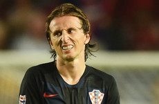 Modric given suspended prison sentence in Spanish tax case