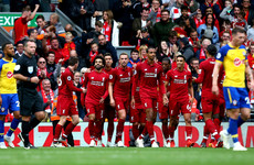 Liverpool make it six Premier League wins from six as Klopp's men ease past Saints