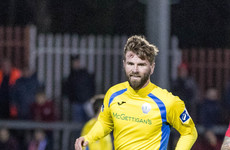 Paddy McCourt scores during 7-1 win as Harps, Shelbourne and Drogheda wrap up First Division play-off spots