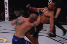 UFC veteran's retirement fight ends with brutal knee-to-the-body knockout