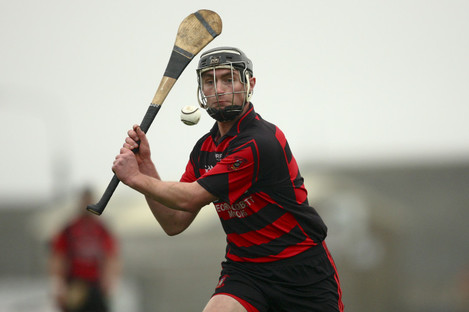 Pauric Mahony was in action today for Ballygunner.