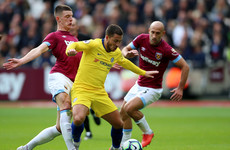 Declan Rice impresses again as Chelsea lose 100% record